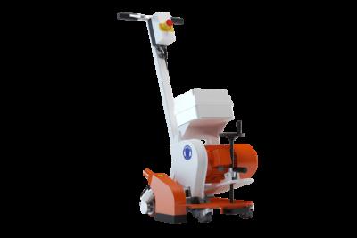 Semi-selbstfahrende Fräsmaschine