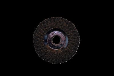 Carborundum-Schleifscheibe