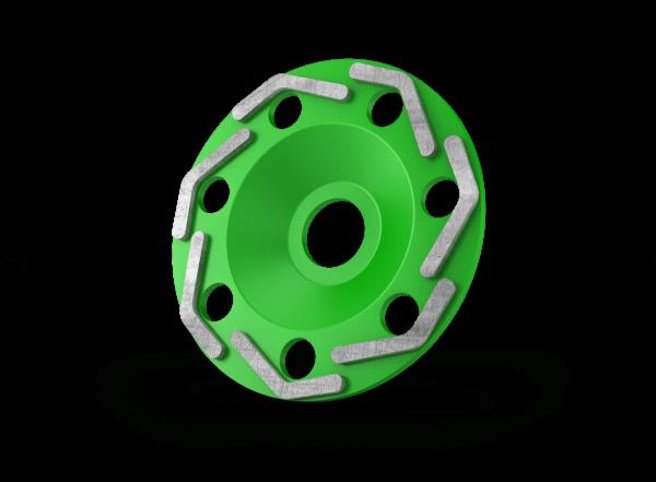 Diamant komschijven boomerang green