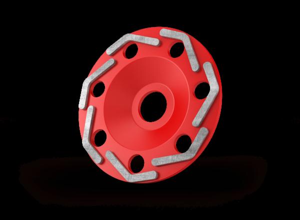 Diamant komschijven boomerang red